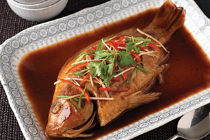 Steamed Whole Fish Image 1