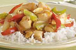 Stir-Fried Chicken and Almonds