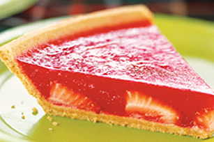Strawberry JELL-O Pie