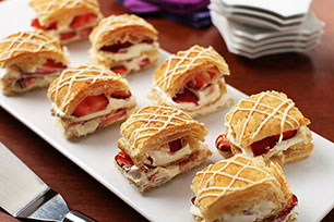 Strawberry-White Chocolate Napoleons