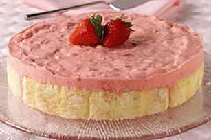 Strawberry Cream Dessert Image 1