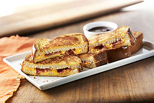 Tostadas francesas rellenas con queso Image 1