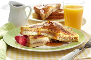 Stuffed French Toast for Two