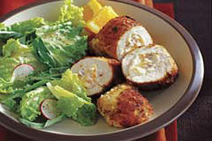 Stuffed Breaded Chicken