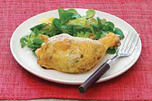 Stuffed Chicken Leg Recipe Image 1