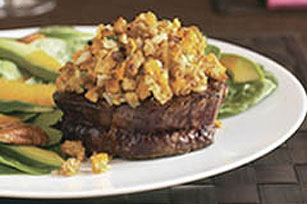 Stuffing-Topped Beef Filets Image 1