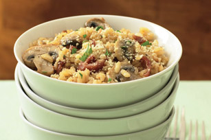 Sun-Dried Tomato-Bacon Risotto