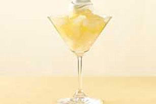 Parfait de limón y rayitos de sol