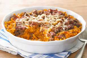 Baked Pizza Mac Image 1
