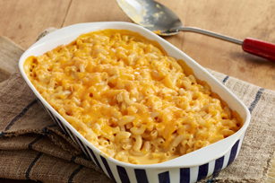 A Christmas Party for the Twins Super-Cheesy-Baked-Macaroni-Cheese-3019