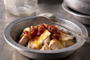 Super-Easy Chicken Enchilada Skillet