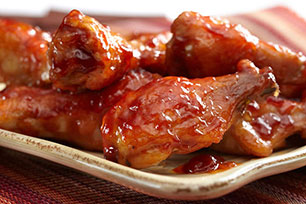 Sweet & Saucy Chicken Drumettes Image 1