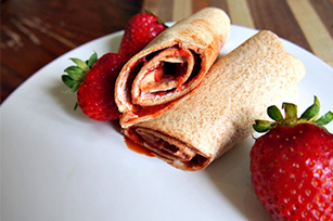 Sweet Strawberry Roll-ups