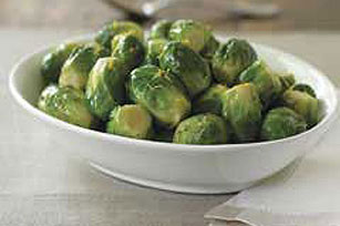 Sweet Brussels Sprouts with Balsamic Dressing