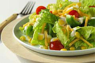 Sweet Corn Ranch Salad