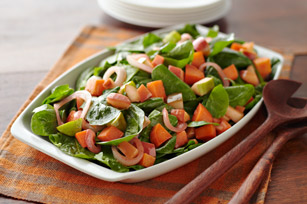 Sweet Potato, Apple and Spinach Salad
