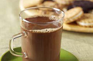 Warm Chocolate-Caramel Coffee