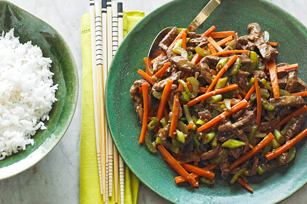 Szechuan Shredded Beef Stir-Fry