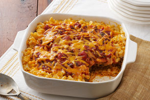 Smart-Choice Mac & Cheese Taco Bake Image 1