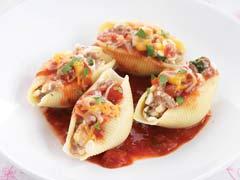Pasta con relleno de tacos Image 1