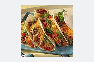 Tacos de pollo con queso Image 1