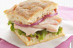 Tangy Raspberry-Turkey Sandwich