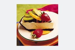 Pay con frutas y galletas de chocolate Image 1