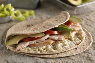 Tex-Mex  Green Chile-Chicken Wrap Image 1