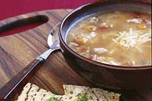 Sopa tejana de pollo y arroz Image 1