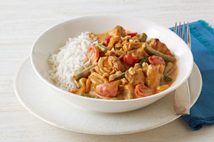 Thai Chicken Peanut Curry Image 1