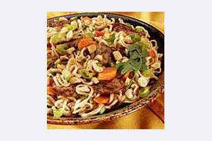 Thai Beef and Noodle Toss Image 1