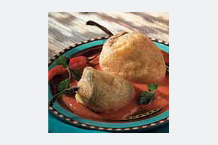 Three Cheese Chiles Rellenos