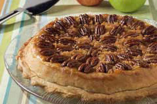 Tipsy Apple Pecan Pie Image 1