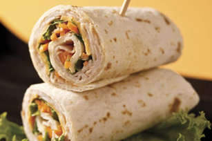 Asian Turkey Wrap