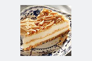 Toasted Almond Ice Cream Cake