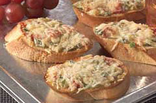 Toasted Romano Crostini Image 1