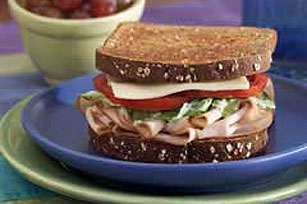 Toasted Turkey Caesar Sandwich Image 1