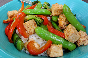 Tofu-Vegetable Stir-Fry