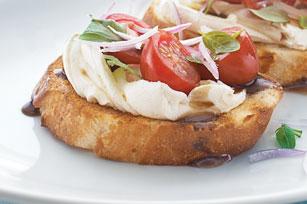 Bruschetta aux tomates et au vinaigre balsamique Image 1