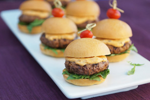 Spicy Cilantro Sliders