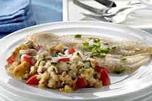 Acompañamiento de relleno con tomate y albahaca Image 1