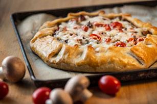 Tomato, Mushroom & Bacon Galette Image 1