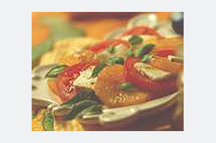 Tomato & Orange Salad with Feta