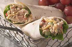 Tortilla Tuna Wrap
