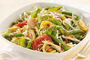 Tossed Italian Salad with Tuna