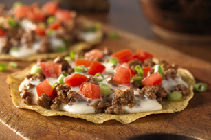 Tostadas with Queso Blanco