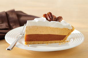 Triple-Layer Pumpkin Spice Pie Image 1