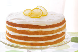 Luscious Layered Lemon Cake Recipe