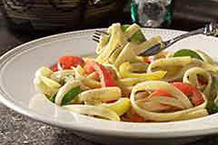 Triple-Pepper Fettuccine Image 1