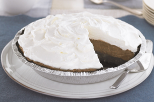 Triple-Layer Chocolate Pie